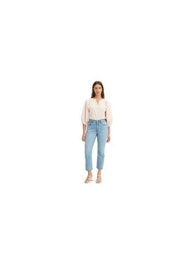 Levi's® 362000110 501 Crop Tango Acid Regular Kısa Paça Kadın Jean Pantalon İndigo